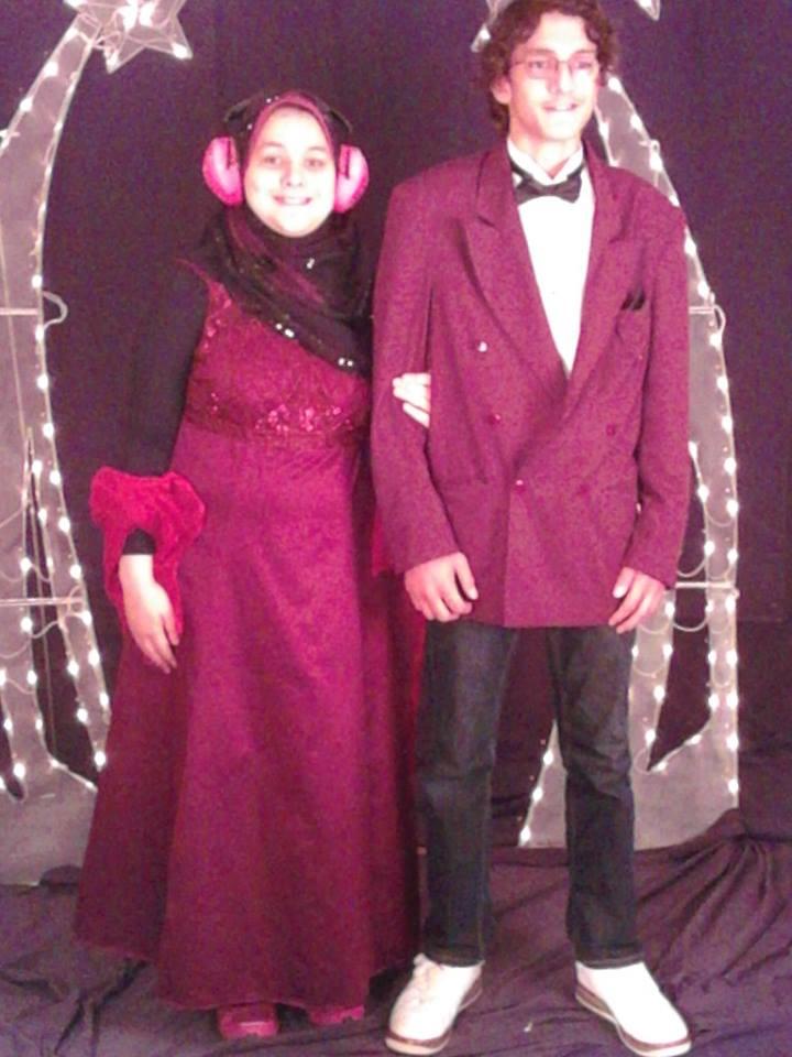 Randa and Hamo Prom 2014